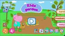 Peppa Pig En Francais enfants jardin 2 | Jeux Pour Enfants | Jeux Peppa Pig VickyCoolTV