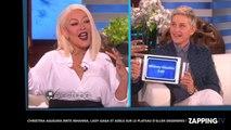 Christina Aguilera imite Rihanna, Lady Gaga et Adele sur le plateau d'Ellen DeGeneres ! (Vidéo)