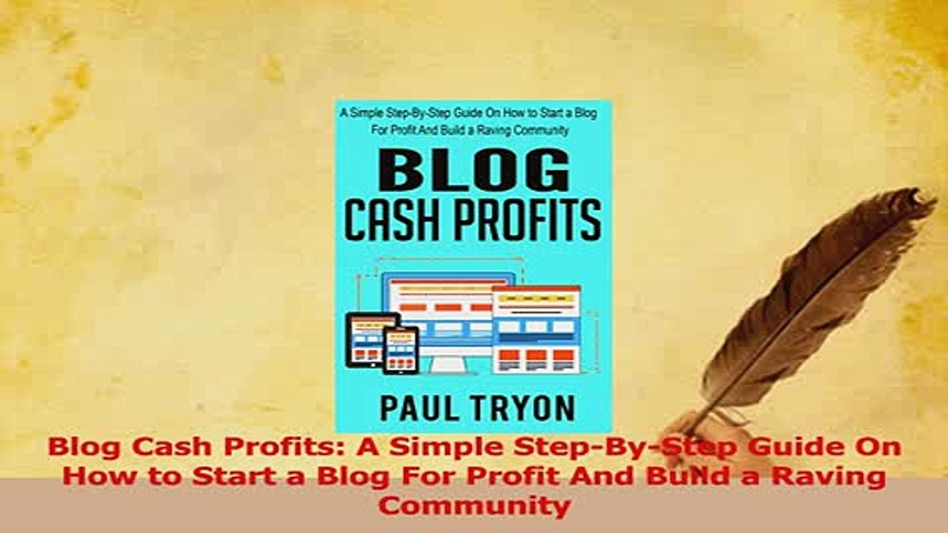 Read  Blog Cash Profits A Simple StepByStep Guide On How to Start a Blog For Profit And Build Ebook