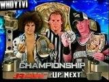 WWE RAW 8-1-2005 - John Cena vs Carlito (Chris Jericho as Ref) (WWE Championship) (1-2)