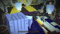 Minecraft: Story Mode episode 5 escaping skyblock city