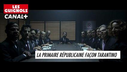 La primaire républicaine façon Tarantino - Les Guignols du 18/05 - Cannes 2016 - CANAL+