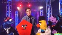 Nick Jonas sings _Check That Shape_ with Sesame Street friends