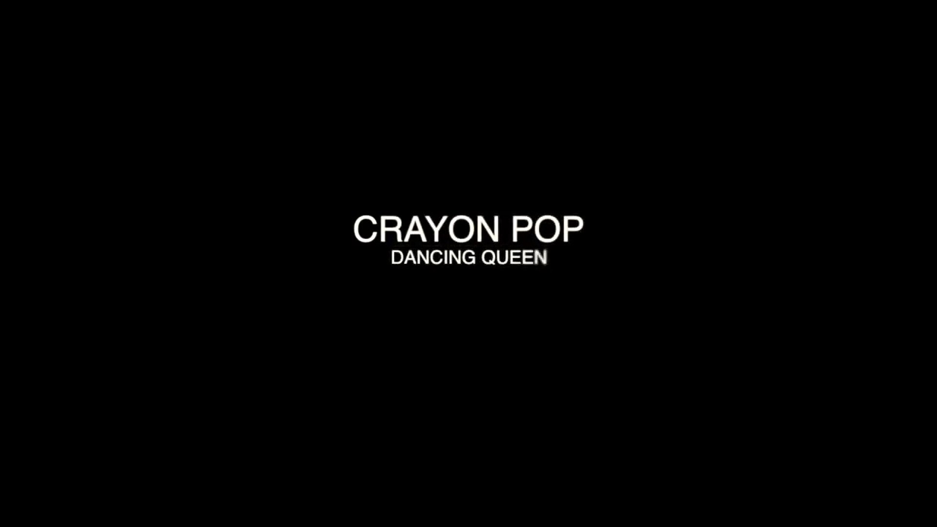 Crayon PopNew Single  Dancing Queen  2012 10 26 Comeback!! hip hop wired,hip hop music