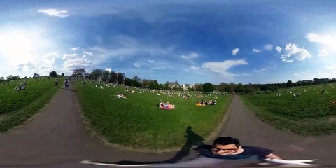 Primrose Hill London in VR 360 video