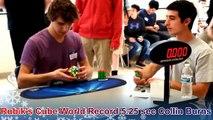 Rubik's Cube World Record 5.25 sec Collin Burns Slow Motion