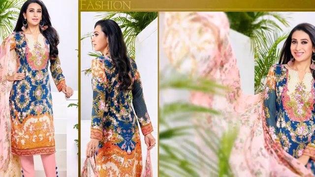 Pakistani Suits Pakistani Lawn Suits Cotton satin Collection