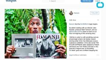 Dwayne 'The Rock' Johnson Instagrams Heartfelt Message About Robin Williams