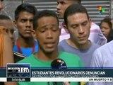 Venezuela: opositores atacan residencias estudiantiles en Caracas