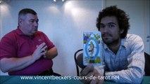 interview de Vincent Beckers - tarot et spiritualité