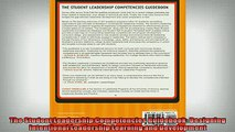 FREE DOWNLOAD  The Student Leadership Competencies Guidebook Designing Intentional Leadership Learning READ ONLINE