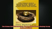 READ FREE Ebooks  The Urban Gold Prospector  How to Make Money Buying Scrap Gold and Silver Free Online