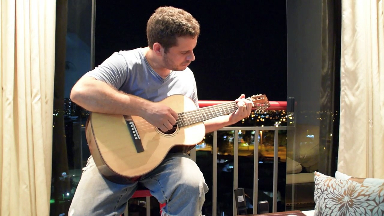 Campoy Guitars – Braveheart Guitar