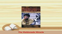 PDF  The Maldonado Miracle  EBook