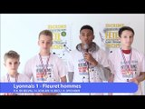 Lyonnais, vainqueur fleuret hommes par équipe #fdjescrime 2016