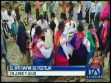 Inti Raymi se celebra en junio y julio