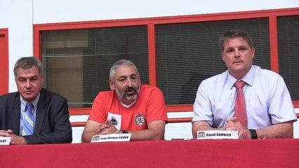 Conférence de presse : Jean Manuel Sousa
