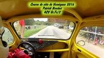 Course de côte de Vernègues 2016 Patrick Brochet 4CV Gr.Fc/2 1ère monte de course