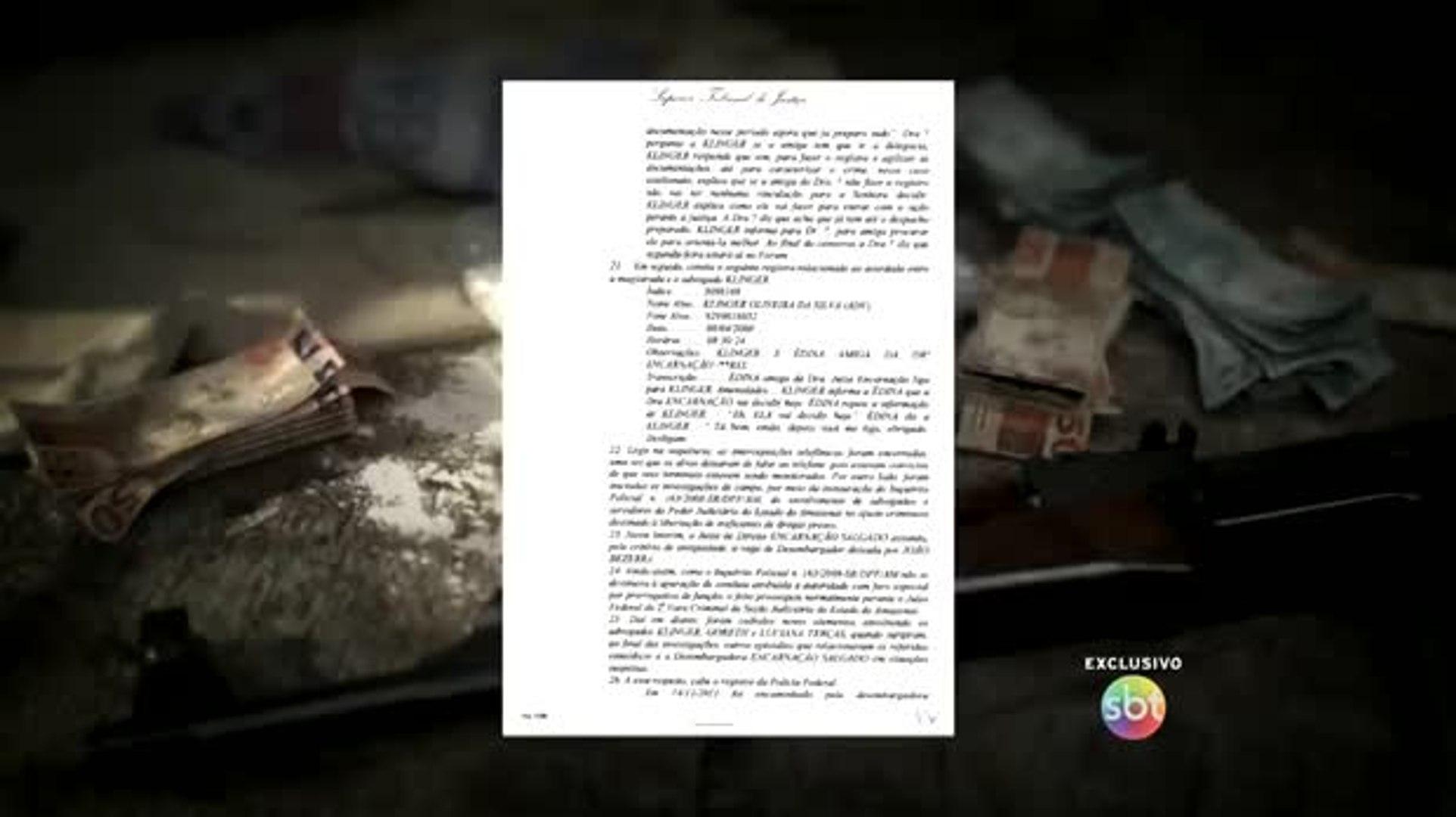Venda de decisões judiciais para traficantes acontece há 10 anos no Amazonas