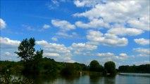 FRENCH CLOUDS 25 06 2014 (2) TIME LAPSE WITH WATER, NUAGES FRANCAIS AVEC EAU
