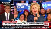 Clinton Discussed Drone Strikes In Pakistan On Private Server