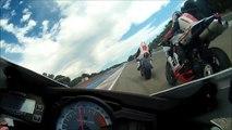 Circuit Paul Ricard au Castellet le 25 aout 2013 - groupe confirmé + pilote - 3 - Gsxr 750