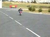 Moi avec la dirt bike de mon frère