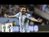 Argentina vs Panama 5-0 Highlights Copa America 2016, Lionel Messi hat trick (ENGLISH commentary)