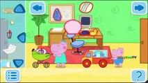 Peppa Pig En Francais nettoyage de la maison | Jeux Pour Enfants | Jeux Peppa Pig VickyCoolTV