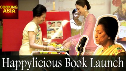 Happylicious Book Launch | Mohana Gill | Cooking Asia