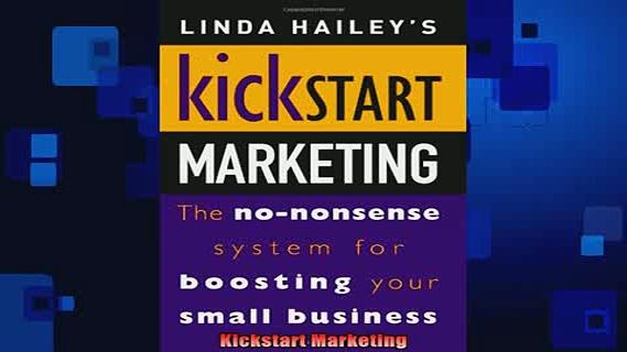 READ book  Kickstart Marketing Full EBook