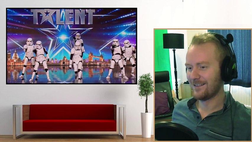 Boogie Storm 'Storm Trooper's' Britain's Got Talent 2016 - MJ's Reaction!!