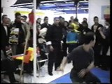Démonstration de kungfu taichi organisée par maître tran-kinh Salon des arts martiaux Paris  1995