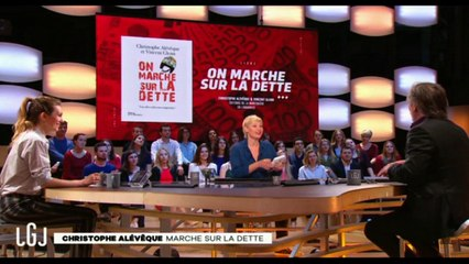 Christophe Alévèque au Grand Journal de Canal + (extrait)