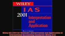 READ THE NEW BOOK   Wiley IAS 2001 for Windows Interpretation and Application of International Accounting READ ONLINE
