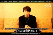 JYJ ~ 『Jaejoong Message for Taiwanese fans 2012\05\23』 (Eng & Viet Sub) (HQ)