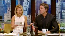 Live! With Kelly  co-host David Muir  Julianne Moore; Rose Byrne; co-host David Muir (May 18, 2016)
