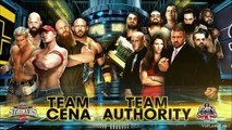 Team Cena vs Team Authority (Traditional Survivor Series Elimination Match - Survivor Series 2014 ITA)