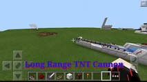 Minecraft PE 0.14.0 Redstone - How to make Long Range TNT Cannon