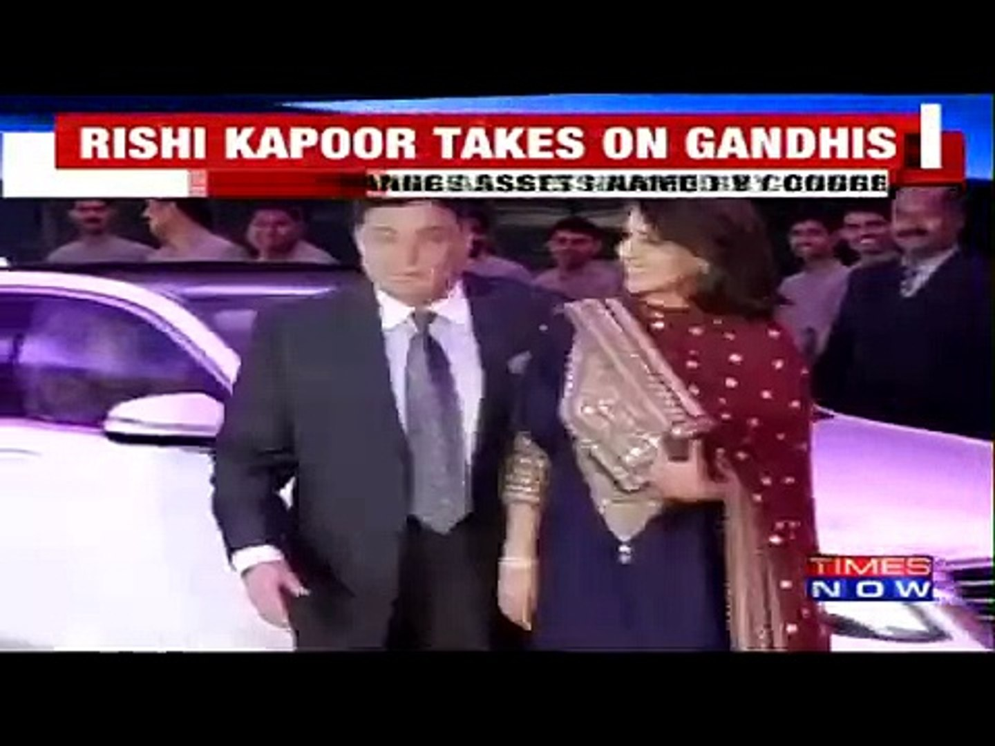 Latest:Rishi Kapoor Attack Gandhi Family Why Keeping Gandhi Name on Everywhere in India? Must Watch