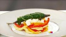Recette d'Anne Alassane : sardines en feuilles de blettes