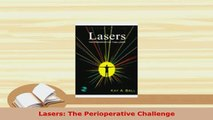 Read  Lasers The Perioperative Challenge Ebook Free