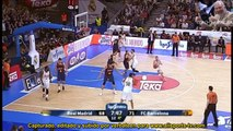 Jaycee Carroll AMAZING 4th Quarter!! vs Barcelona ACB 26 points 2 dimes ACB 12.4.15