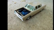 1968 PLYMOUTH FURY 1/25 scale kit johan built 4-door built no.5 for the year