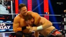 Cesaro and The Miz (w/ Maryse) vs. Kevin Owens and Sami Zayn