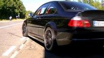 Insane BMW M3 E46 ESS CFR 550 Supercar LOUD Sounds