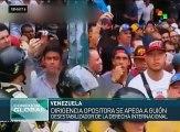 Venezuela: opositores realizan protestas violentas en Caracas