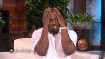 Kanye West Goes Full Kanye West on Ellen