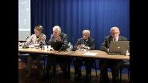 Communiquer entre établissements scolaires, Journée de l'Europe 2011, Nelly GUET, André de PERETTI et les invités