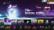 Blurred Lines - Robin Thicke ft. T.I., Pharrell 5 STARS ALTERNATE /JUST DANCE 2016 UNLIMITED JD2014
